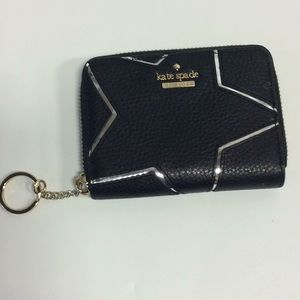 Small kate spade wallet with key holder